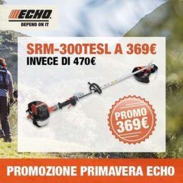 Decespugliatore Echo SRM-300TESL