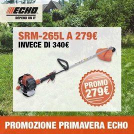 Decespugliatore Echo SRM-265L